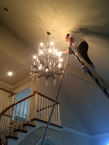 Chandelier cleaning san francisco bay area bulb replacement mozeypictures Gallery